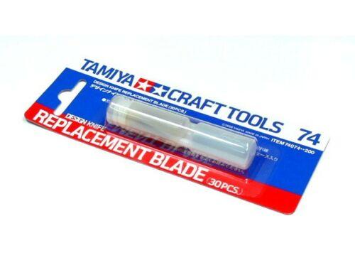 Tamiya Design Knife Repl.Blade pót penge (74074)