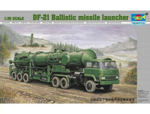 Trumpeter CHN DF-21 ballistic missile launcher 1:35 (202)