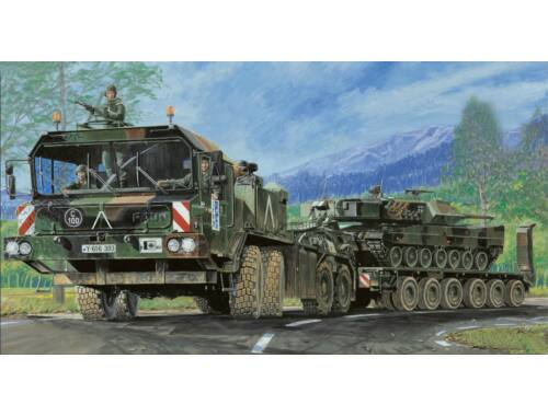 Trumpeter FAUN Elefant SLT-56 Panzer-Transporter 1:35 (203)