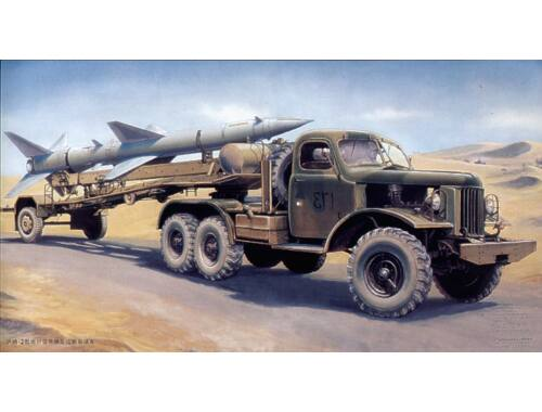 Trumpeter Sam-2 Missile with Loading Cabin 1:35 (204)
