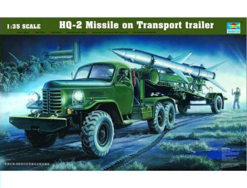 Trumpeter HQ-2 Guideline Missile w/Loading Cabin 1:35 (205)