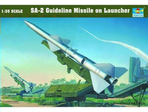 Trumpeter SA-2 Guideline Missile w/Launcher Cabin 1:35 (206)