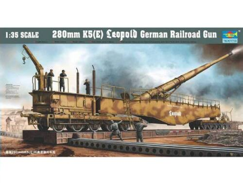Trumpeter 280mm K5 E Leopold German Gun 1:35 (207)