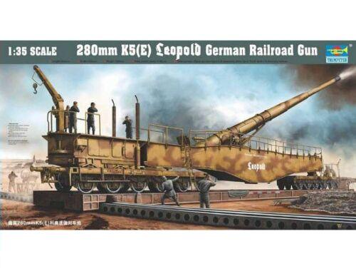 Trumpeter 280mm K5 E Leopold German Gun 1:35 (207)