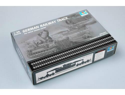 Trumpeter German Railway Track Set 1:35 (213)