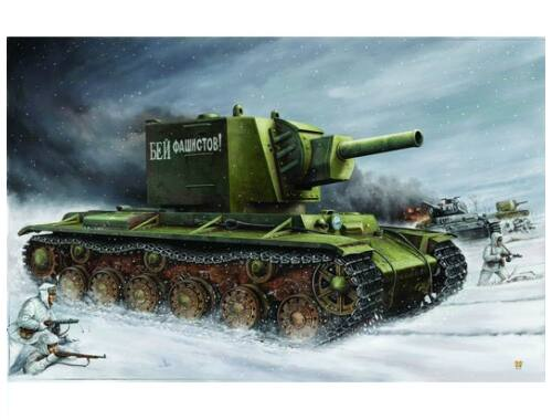 Trumpeter Russian KV ''Big Turret'' 1:35 (311)