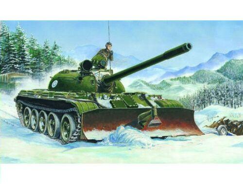 Trumpeter Russischer Panzer T55 mit BTU-55 1:35 (00313)