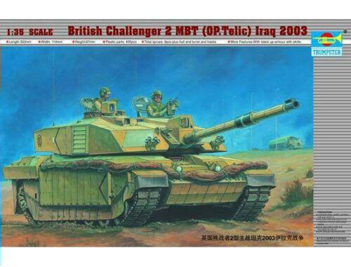 Trumpeter Challenger II Operation Telic, Irak 2003 1:35 (323)