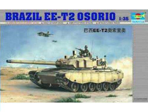 Trumpeter Brasilian Tank EE-T2 Osorio 1:35 (333)