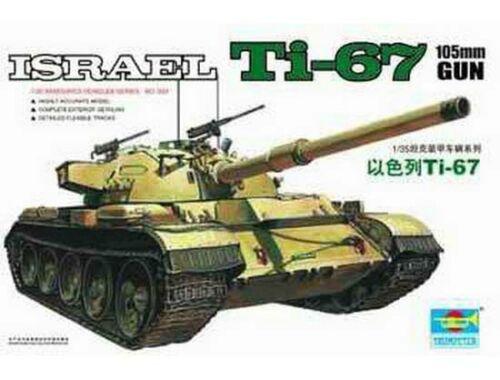 Trumpeter Israelischer Panzer Ti-67 1:35 (00339)