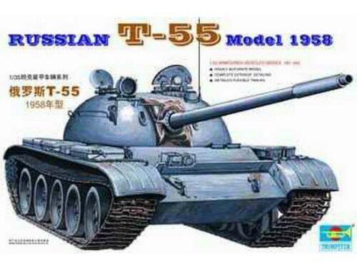 Trumpeter Russischer Panzer T-55A von 1958 1:35 (00342)