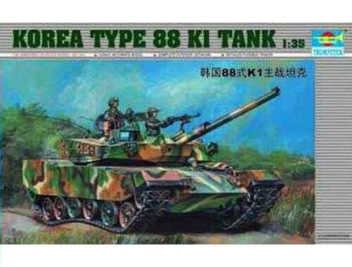 Trumpeter Koreanischer Panzer Type 88 K1 1:35 (00343)