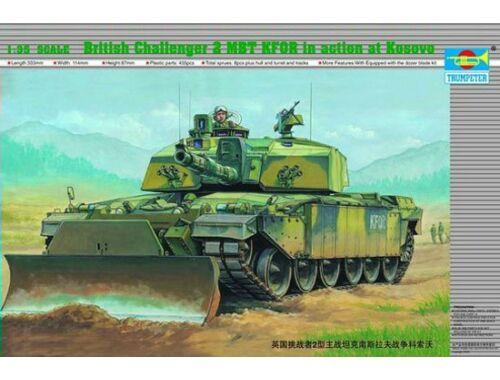 Trumpeter British Challenger II KFOR MBT (Kosovo) 1:35 (345)