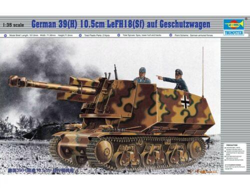 Trumpeter PzKpfw 39(H) 10,5 cm LeFH18 (SFf) auf Geschützwagen 1:35 (353)