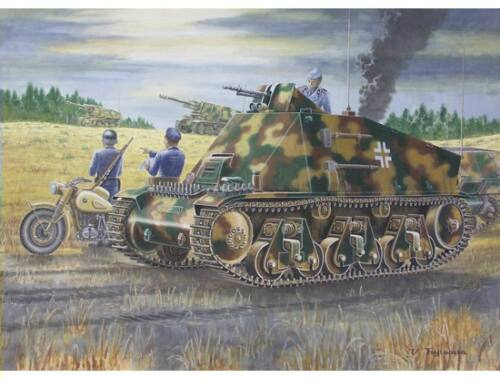 Trumpeter PzKpfw 38(H) Funk- u. Befehlswagen 1:35 (00355)
