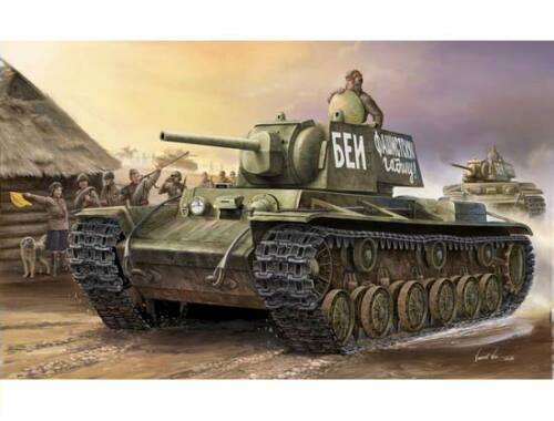 Trumpeter Russian KV-1 (1941) 1:35 (356)