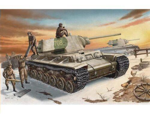 Trumpeter Russland KV-1 (1942) Heavy Gust Turret Tank 1:35 (00359)