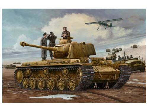 Trumpeter German Pz.Kpfm. KV-1 756(r) Tank 1:35 (00366)