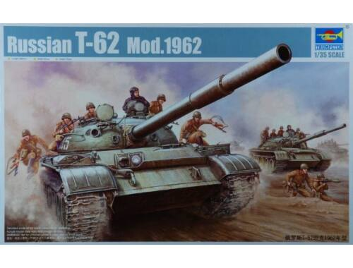 Trumpeter T-62 Main Battle Tank Mod. 1962 1:35 (376)