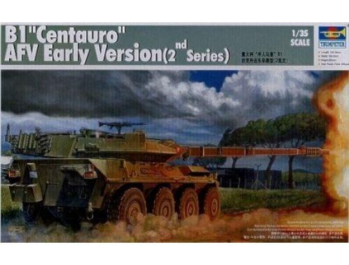 Trumpeter Italian B1 Centauro Tank Destroyer 1:35 (386)