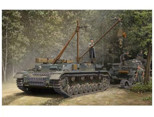 Trumpeter German Bergepanzer IV Recovery Vehicle 1:35 (00389)