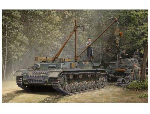 Trumpeter German Bergepanzer IV Recovery Vehicle 1:35 (389)
