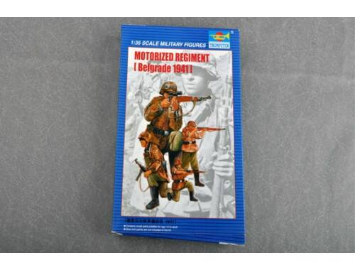Trumpeter Motorized Regiment Belgrad 1941 1:35 (403)