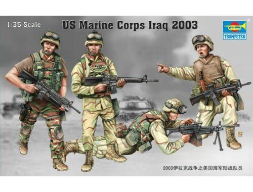 Trumpeter US Marine Corps Irak 2003 1:35 (407)