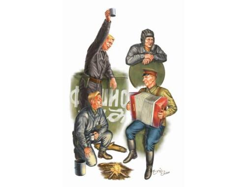 Trumpeter WWII Soviets Tank Soldier 1:35 (413)