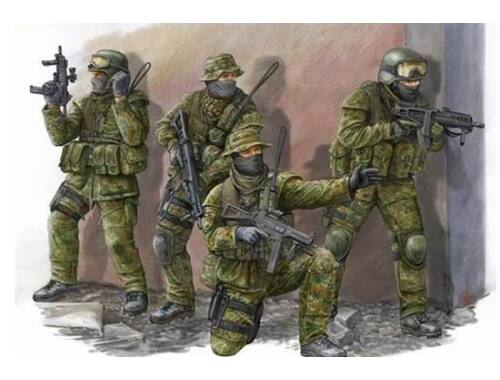 Trumpeter Modern German KSK Commandos 1:35 (00422)