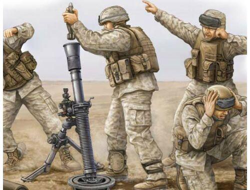 Trumpeter Modern U.S. Marine M252 Team 1:35 (00423)