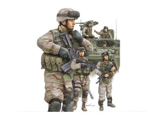 Trumpeter Modern U.S. Army Armor Crewman   Infantry 1:35 (00424)