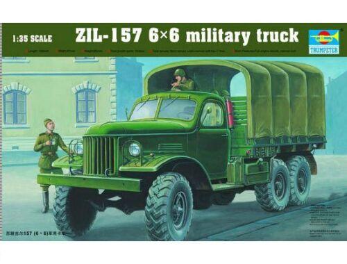 Trumpeter ZIL-157 6x6 Soviet Military Truck 1:35 (01001)