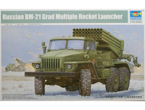 Trumpeter Russian BM-21 Hail MRL-Early 1:35 (1013)