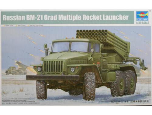 Trumpeter Russian BM-21 Hail MRL-Early 1:35 (1013)