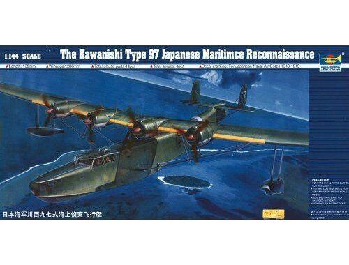 Trumpeter Kawanishi H6K5/23 Typ 97 Flugboot 1:144 (1322)