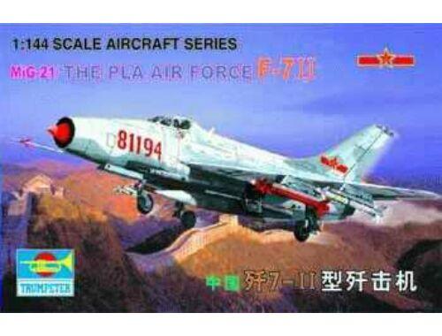 Trumpeter MiG-21/F-7II PLAAF 1:144 (1325)