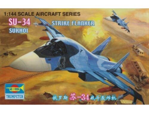 Trumpeter Sukhoi Su-34 Strike Flanker 1:144 (1329)