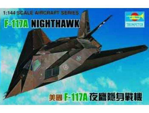 Trumpeter Lockheed F-117 A Night Hawk 1:144 (1330)
