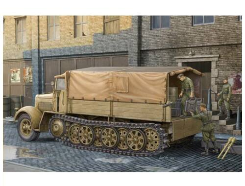 Trumpeter German Sd.Kfz.7 Mittlere Zugkraftwagen8t Late Version 1:35 (01507)