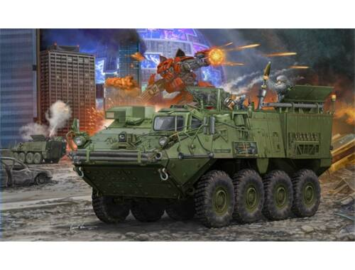 Trumpeter M1129 Stryker Mortar Carrier w. 120mm 1:35 (01512)