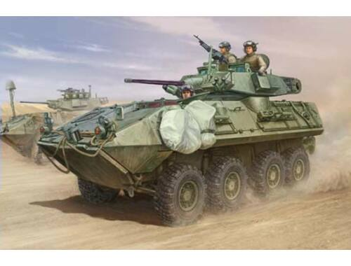 Trumpeter LAV-A2 8x8 wheeled armoured vehicle 1:35 (01521)