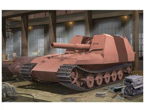 Trumpeter Geschützwagen Tiger Grille21/210mm Morta 1:35 (01540)
