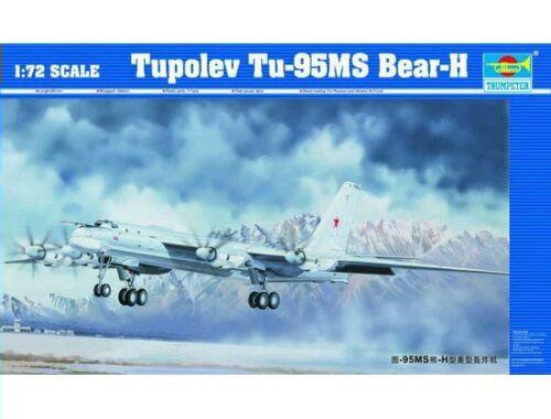 Trumpeter Tupolev Tu-95 MS Bear-H 1:72 (01601)