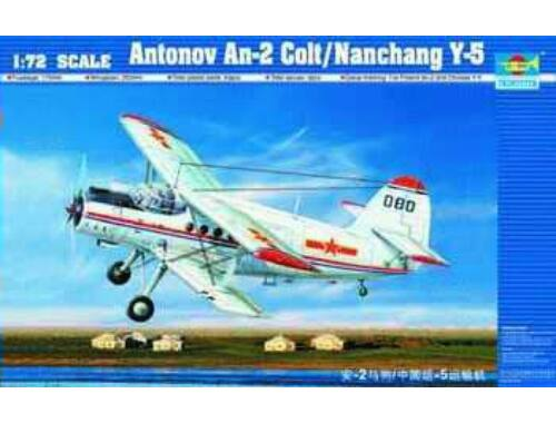 Trumpeter Antonov An-2 Colt / Nanchang Y-5 1:72 (01602)