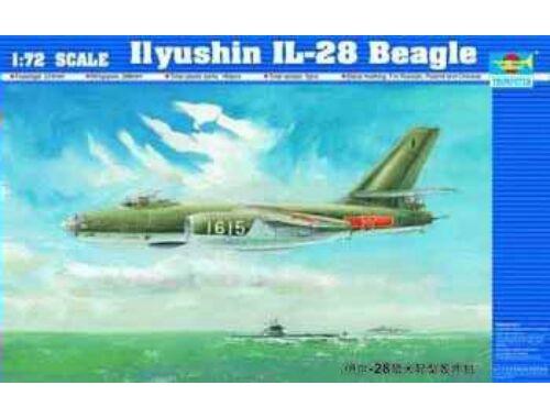 Trumpeter Iljushin IL-28 Beagle 1:72 (1604)