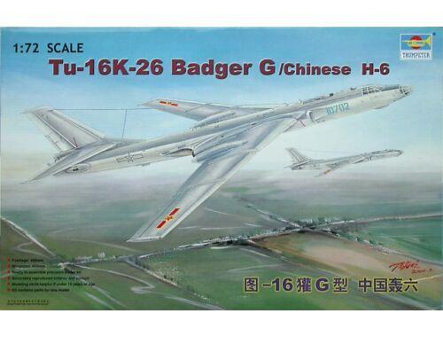 Trumpeter Tupolev Tu-16K 26 Badger 1:72 (1612)