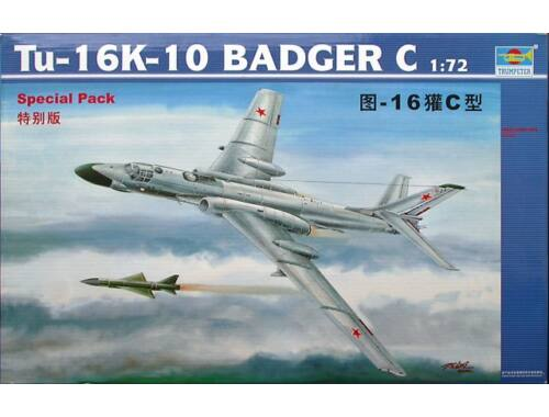 Trumpeter Tupolev Tu-16K 10 Badger 1:72 (01613)