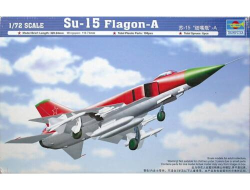 Trumpeter Su-15 Flagon-A 1:72 (01624)