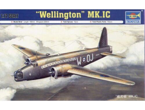 Trumpeter ''Wellington'' Mk.1C 1:72 (01626)